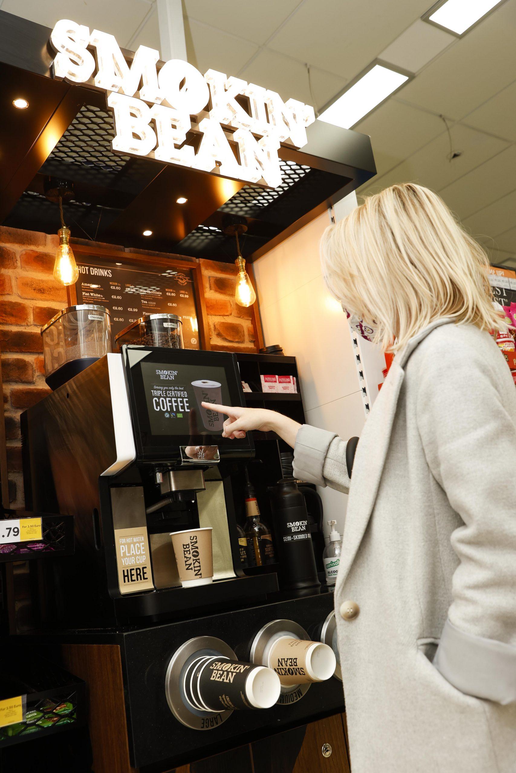 tesco ireland launch smokin' bean coffee
